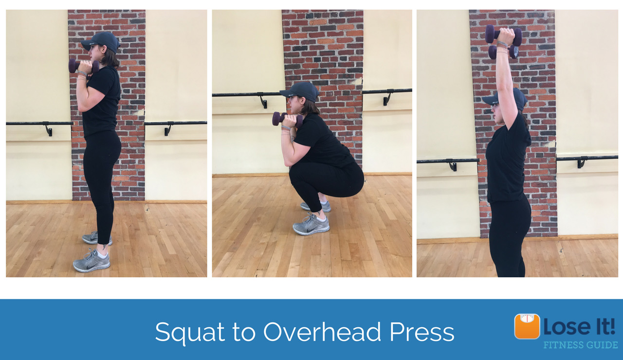 squat-to-overheard-press