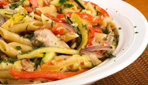 7b_Chicken_Arugula_and_Bell_Pepper_Pasta_wk
